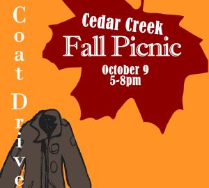 CCE Fall Picnic Coat Drive.fw